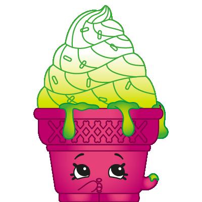 Shopkins #FF_002 - Ice Cream Dream - a Exclusive Shopkin