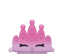 #7-079 - Tiny Tiara Topper - Limited Edition