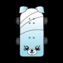 #5-002 - Katie Skateboard - Rare
