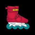 #5-006 - Lola Roller Blade - Rare
